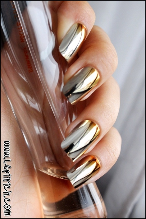 Metallic Nails 1