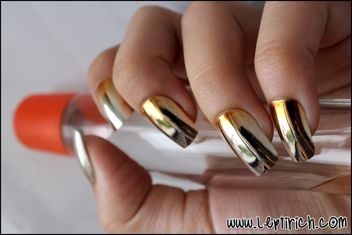 Metallic Nails 3