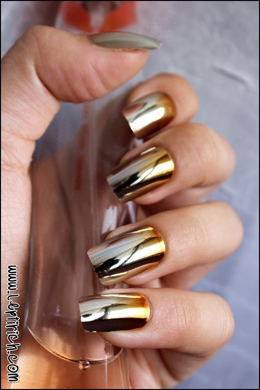 Metallic Nails 4