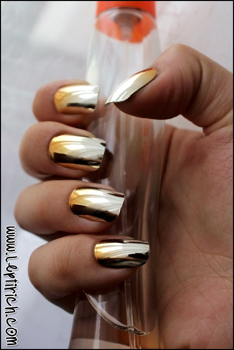 Metallic Nails 5