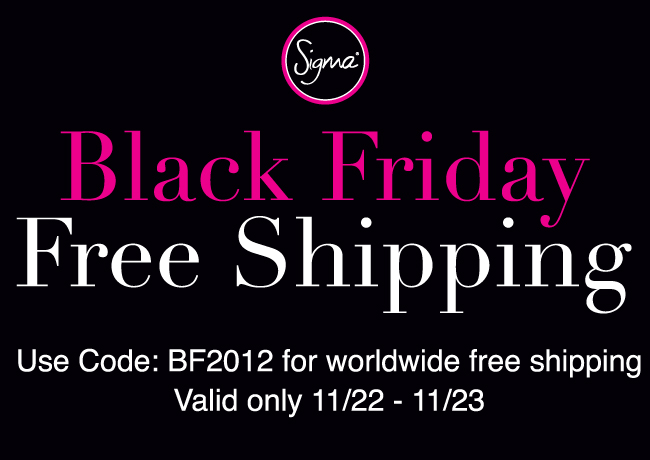 Sigma Beauty – Black Friday 2012