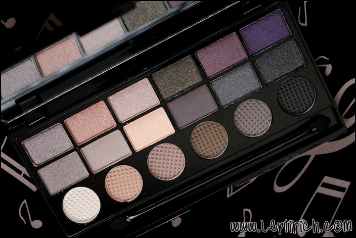 Makeup Revolution palette - Hard Day LE
